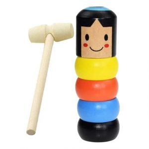 wooden man magic toy
