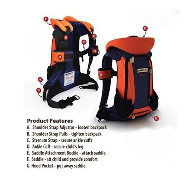 backpack baby shoulder carrier