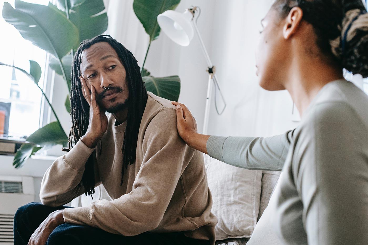 postpartum depression for males